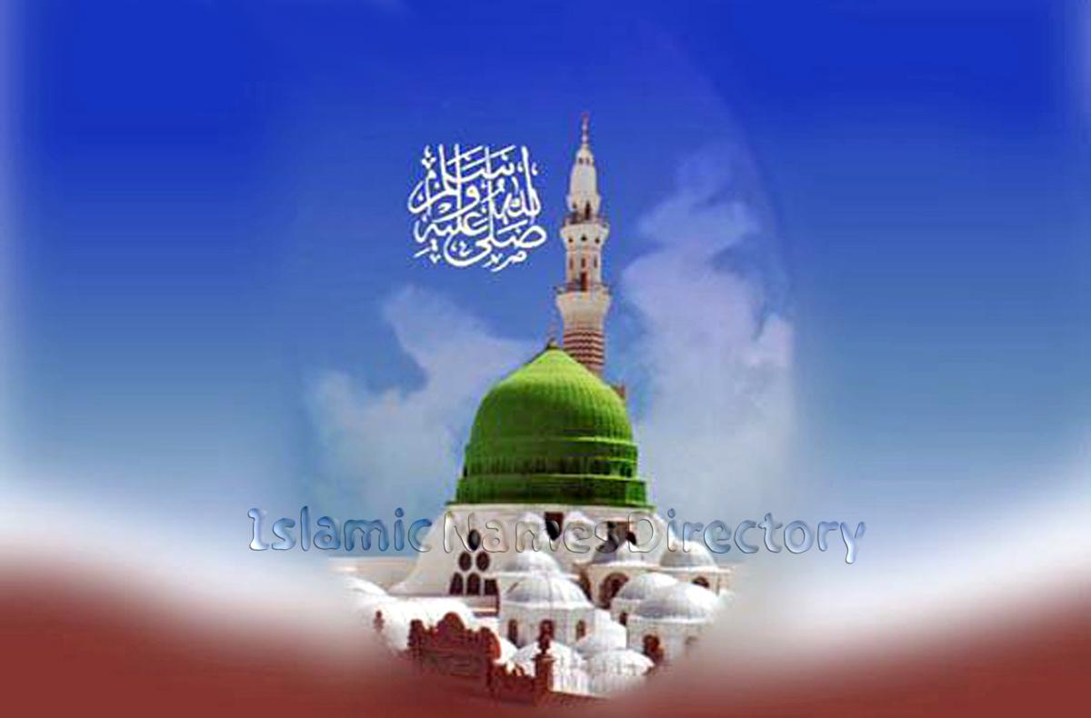 islamic wallpaper masjid nabvi 27